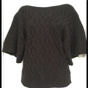 Chunky Knit Boat Neck Sweater Top
